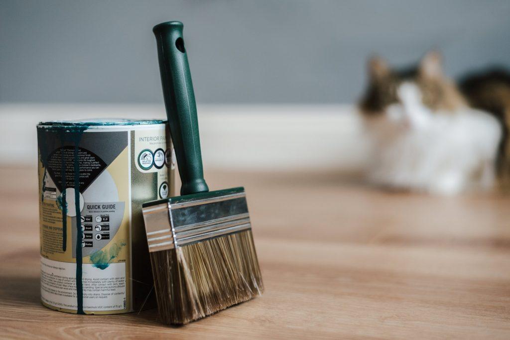 como pintar madera